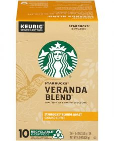 Nature et veranda : starbucks veranda blend coffee nutrition