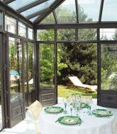 Aménagement véranda maison : veranda alu technal