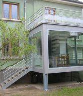 Amenager veranda etroite par fondation veranda alu