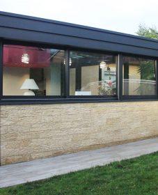 Toiture veranda bac acier | veranda jardin drummondville