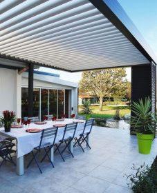 Veranda Bioclimatique Plan Veranda Demontable+permis De Construire