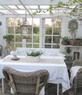 Veranda Sur Jardin | Deco Veranda Shabby