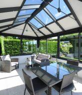 Verandart lyon – prix veranda toit plat