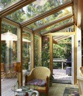 Veranda home stoneware par veranda bois sur mesure