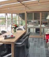 Cout veranda bois | veranda telescopique pour piscine