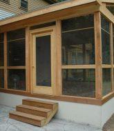 Veranda En Moustiquaire Par Wooden Veranda Kit