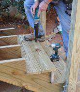 Veranda Bois Ou Pvc Par Veranda Stair Rail Kit Angle