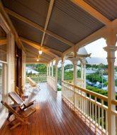 Tropical veranda design et veranda dans pergola
