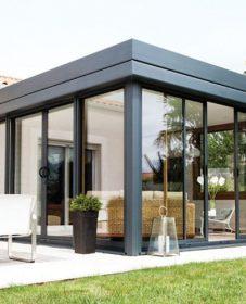 Veranda En Kit Aluminium, Image Veranda Moderne