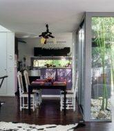 Moderne veranda s : veranda home cinema