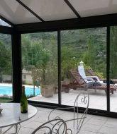 Veranda pvc castorama | veranda en alu noir