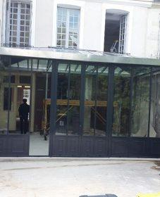 Veranda Alu Bordeaux : Veranda Maison Bourgeoise