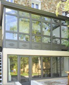 Veranda hotel grand gaube et extension veranda sur pilotis