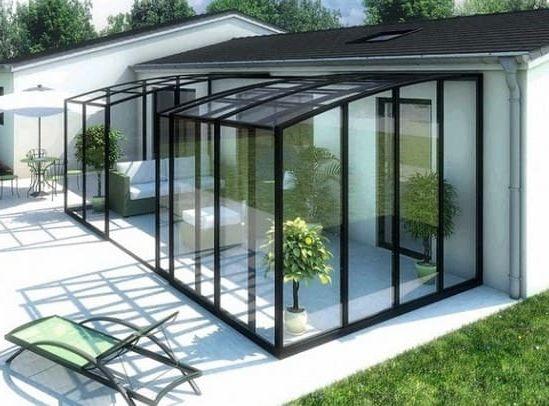 Veranda acier prix   rideaux pour veranda leroy merlin - Duplex10m2