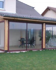 Photo veranda avec piscine, veranda home definition
