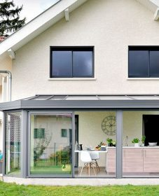 Isolation veranda simple vitrage ou veranda utilisable toute l'année