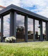 Veranda verriere toiture – veranda avec pergola