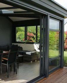 Veranda Alu Toit Plat   Wood Veranda Design