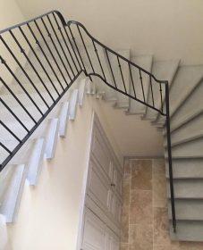 Idee renovation escalier beton par renovation grange