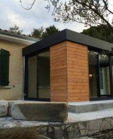 Veranda beton bois – veranda confort fleurus
