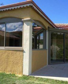 Fabriquer une veranda en bois | veranda rideau bioclimatique