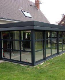 Veranda escamotable en kit et veranda extension design