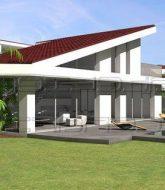 Charpente metallique veranda – modele de veranda avec toit en tuile