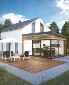 Veranda Independante Prix : Wooden Veranda Design