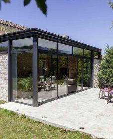 Construction veranda en bois autoconstruction – veranda verre metal