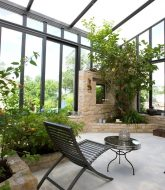 Aménagement véranda jardin : veranda club nj