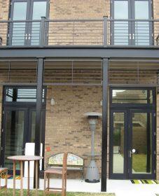 Veranda railing design : veranda bois exotique