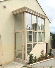 Fabrication Veranda Fineline, Veranda Auvers Sur Oise