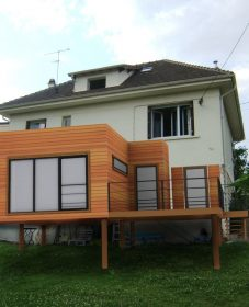 Prix Veranda Alu 35m2 : Veranda En Ossature Bois