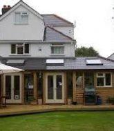 Veranda en orangerie ou home front veranda design