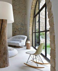 Renovation mur pierre chaux par salon de la rénovation paris