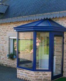 Fabricant toiture veranda, photo veranda sas d'entrée