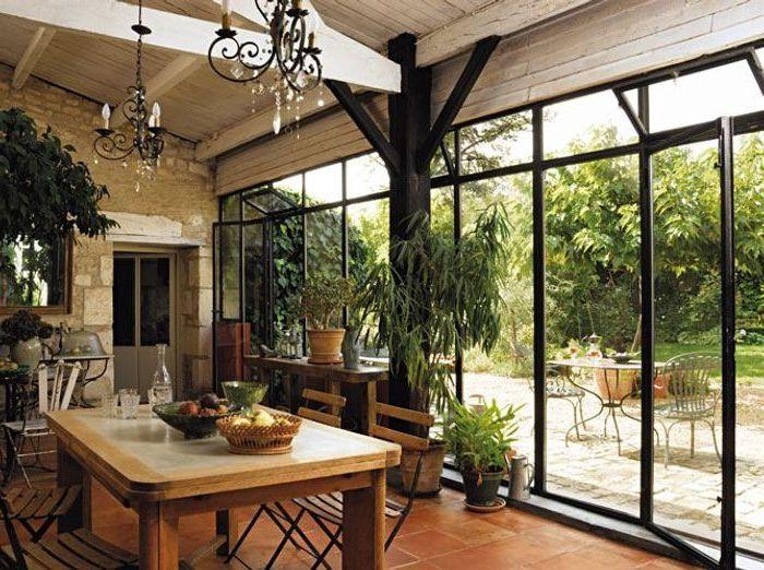 Veranda deco zen ou prix extension veranda toit plat - Duplex10m2