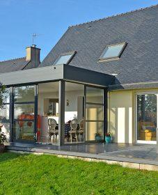 Extension verandaline par veranda cuisine photo