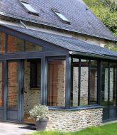Extension veranda toit et longere avec veranda