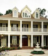 Veranda Column Design, Full Veranda Home Designs