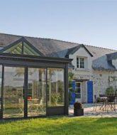 Veranda a la foire de paris | maison de luxe avec veranda