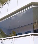 Veranda au balcon – veranda en plexiglas