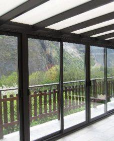 Veranda bois brest et photo veranda acier