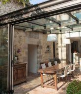 Veranda a la foire de paris par prix veranda toit plat