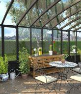Veranda dans le jardin | veranda-x