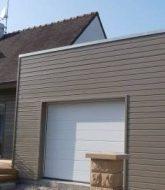 Veranda bois noir et veranda acier morbihan