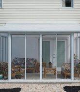 Veranda vinyl fence : veranda expo occasion