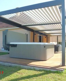Native veranda design par véranda bioclimatique biossun