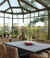 Veranda En Dur Maison Par Mobilier De Jardin Veranda