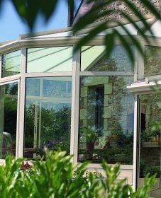 Veranda verancial ou fermeture veranda alu